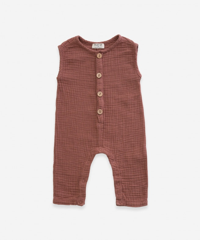 Play up Woven Jumpsuit Old Tile
