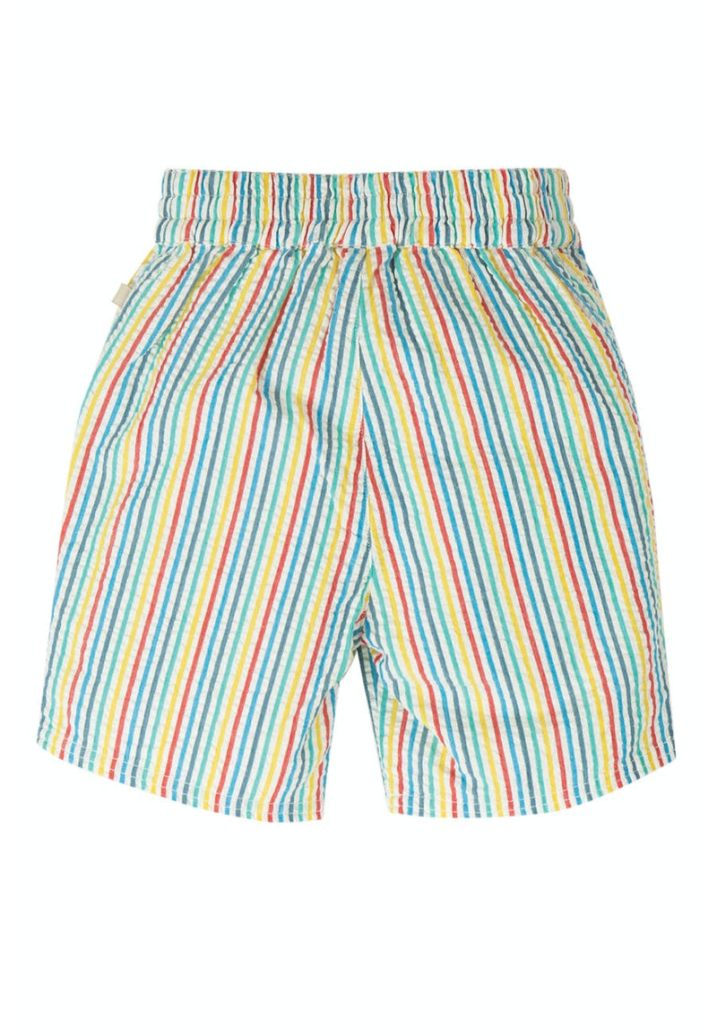 frugi Shorts Akiara Multi Seersucker Stripes