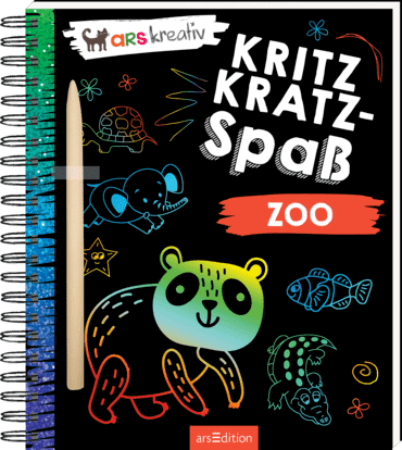 arsEdition Kritzkratz-Spaß Zoo