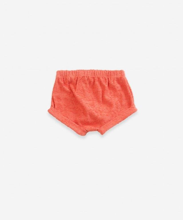 Play Up Terry Shorts Peach