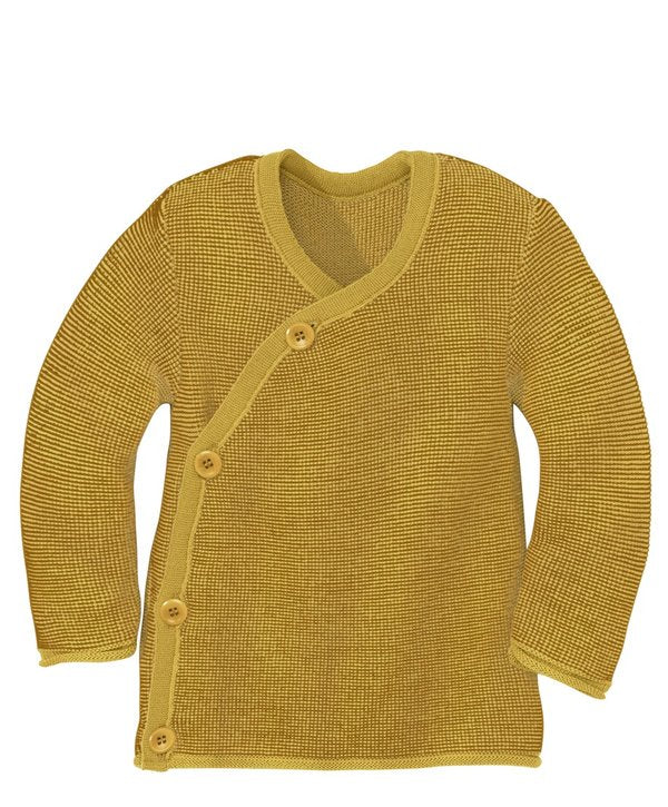 disana Wickelpullover curry-gold