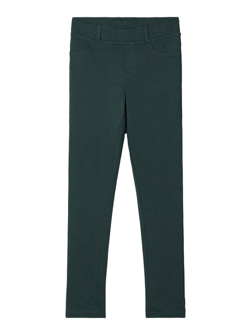 name it Java solid Leggings Dark Spruce