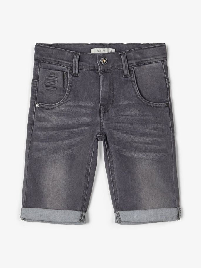 name it Stretch Jeansshorts Theo