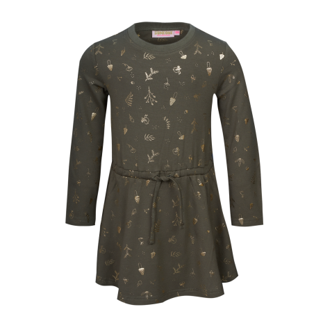 Someone Girls Ellie Kleid Khaki