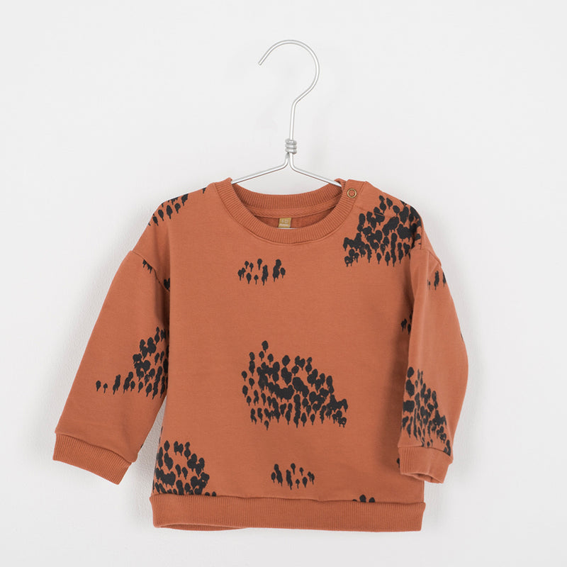 lötiekids Sweatshirt Forest Tile