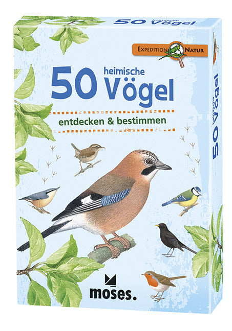 moses Expedition Natur - 50 Vögel