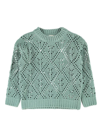 name it Flaylah LS Knit Strickpullover