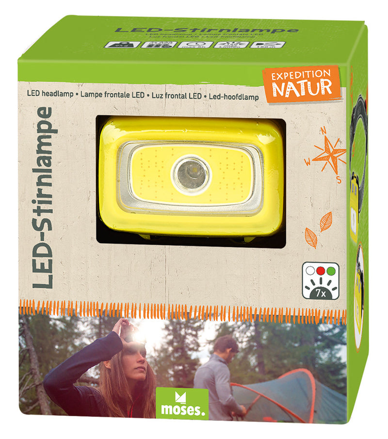 Expedition Natur LED-Stirnlampe