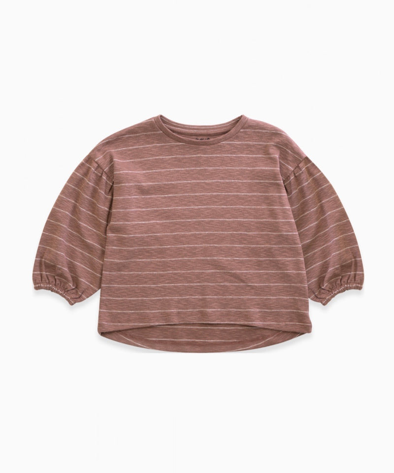 Play up Purplewood Pullover gestreift