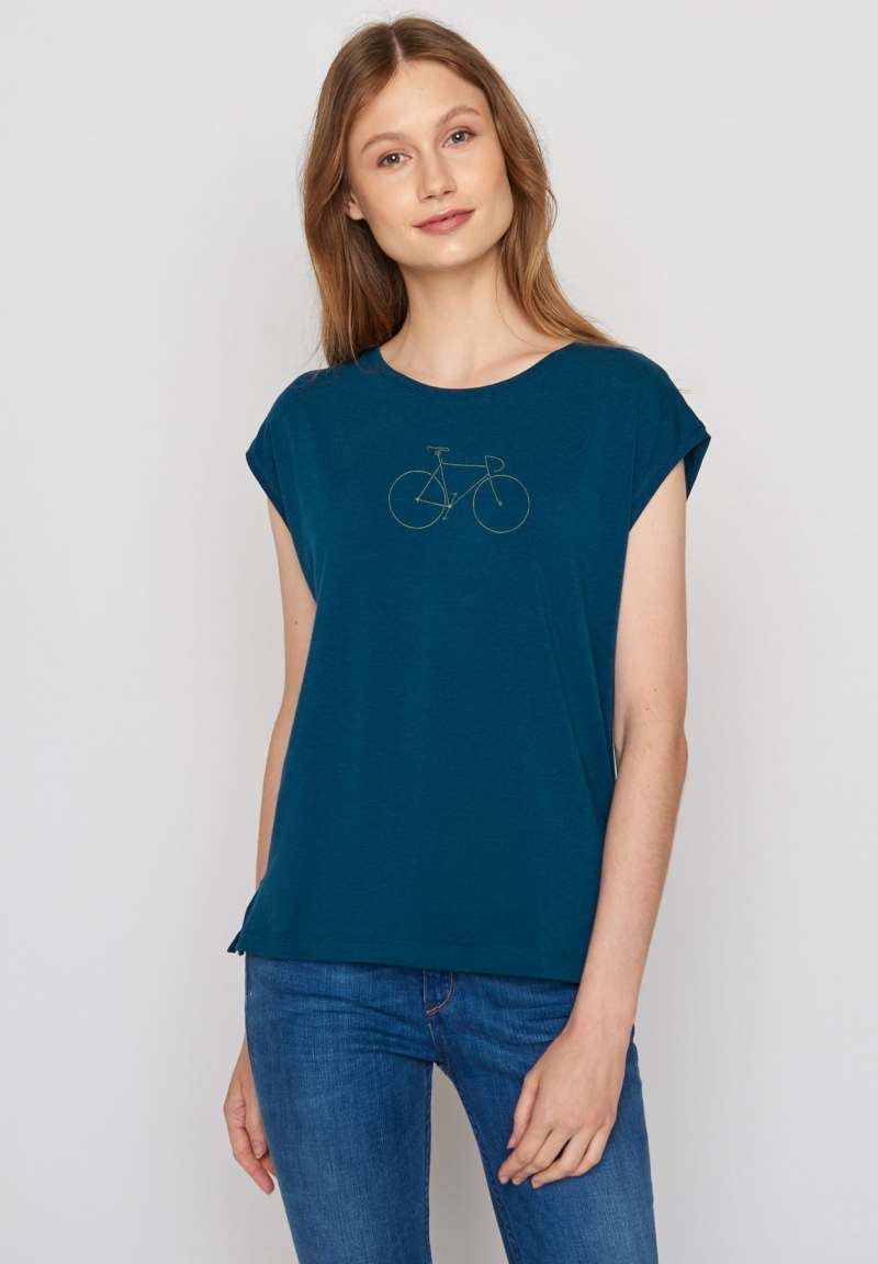 Greenbomb Damen Shirt sailor blue