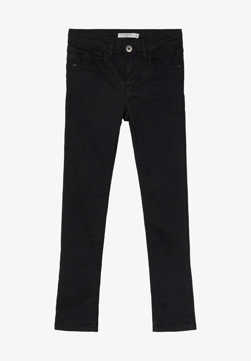 name it Jeans slim schwarz