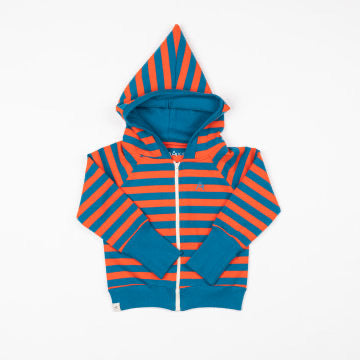 AlbaKid Kapuzenjacke Alltime Zipper Hood Orange