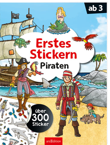 "arsEdition Erstes Stickern ""Piraten"""