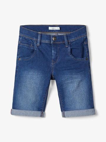 Name it Sofus Slim Fit Long Jeansshorts