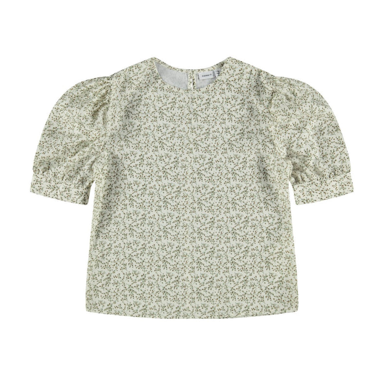 name it Bluse mit Puffärmeln