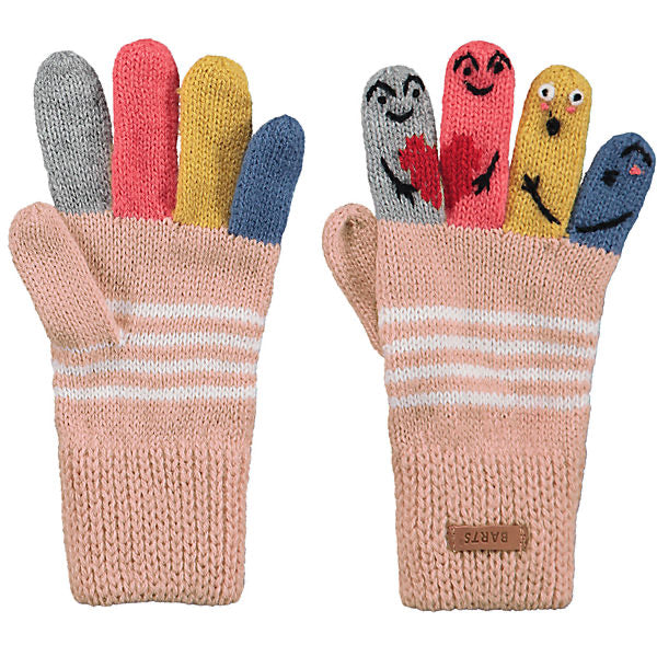 Barts Kids Puppet Gloves Pink