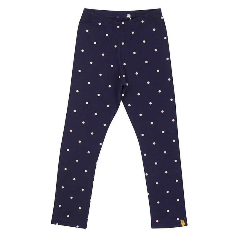 danefæ Surprise Dots Leggings navy/gold