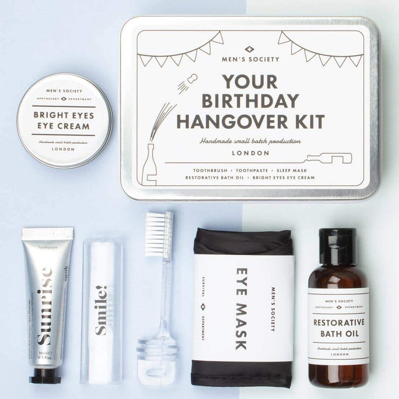 Men's Society Your Happy Birthday Hangover Kit