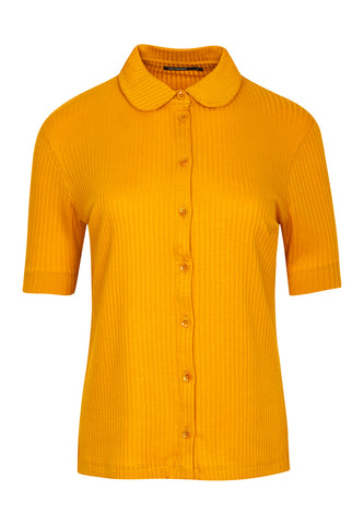 Greenbomb Damen Shirt Grace Golden Yellow