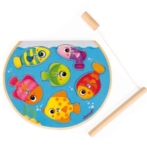 Janod Puzzle Fisch