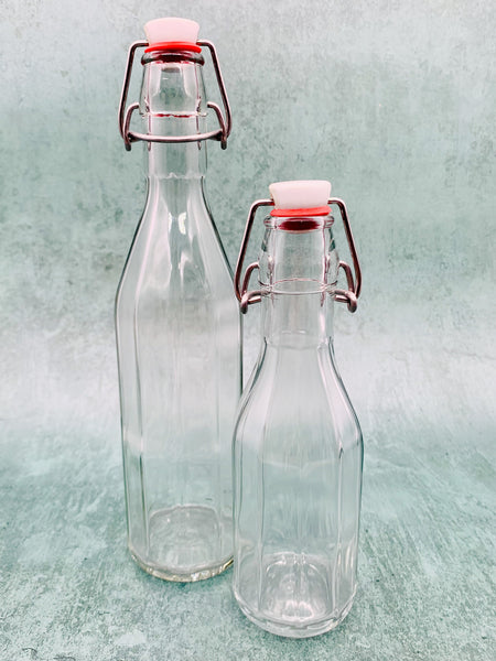 Glass Swing-Stopper Bottle