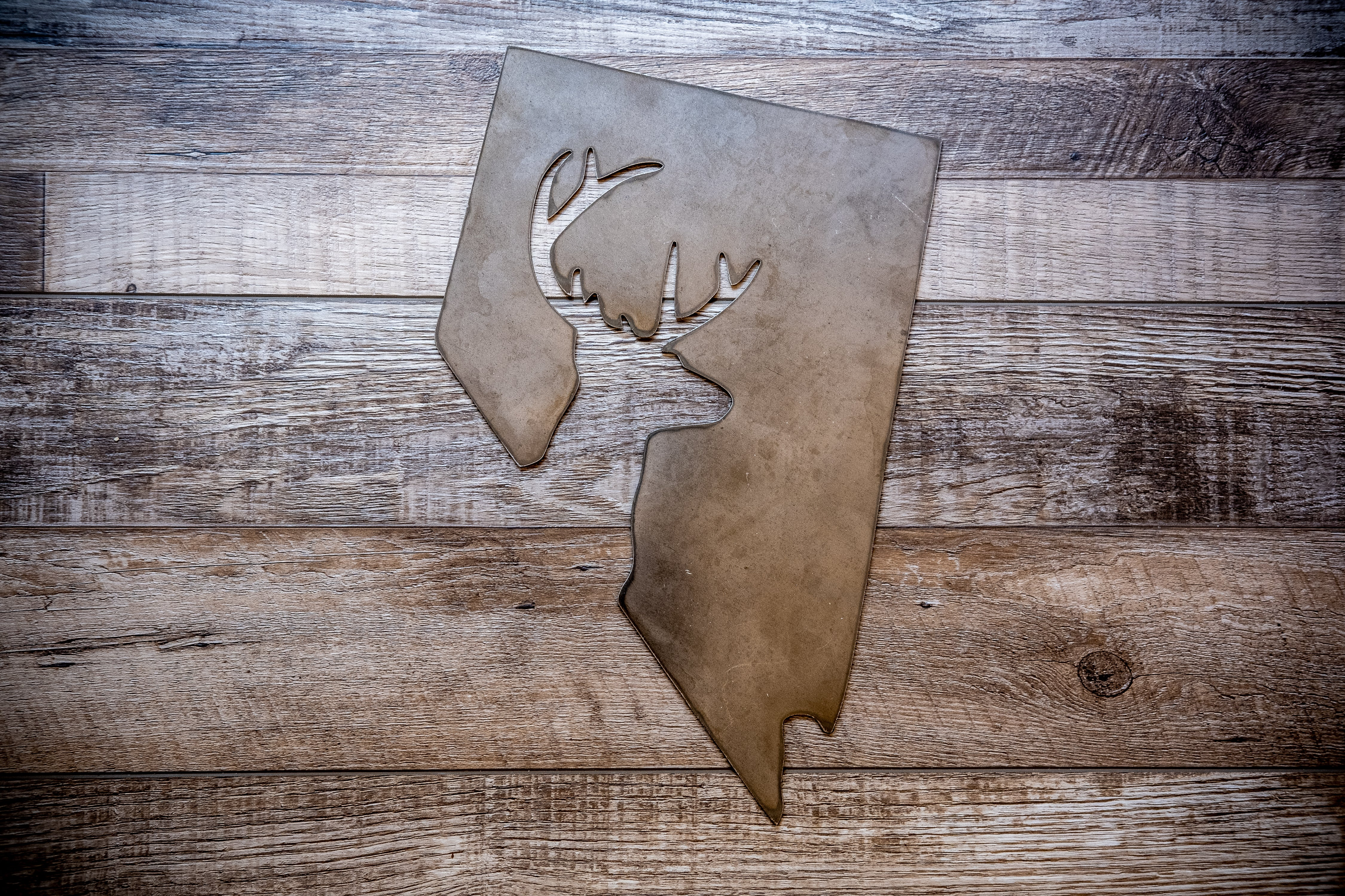 Nevada Hunter Metal Sign