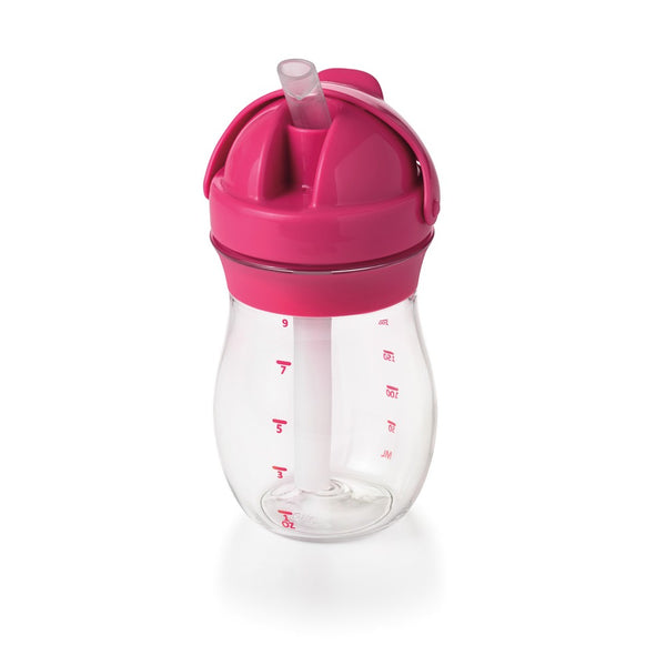 Oxo Tot Grow Straw Cup - Pink