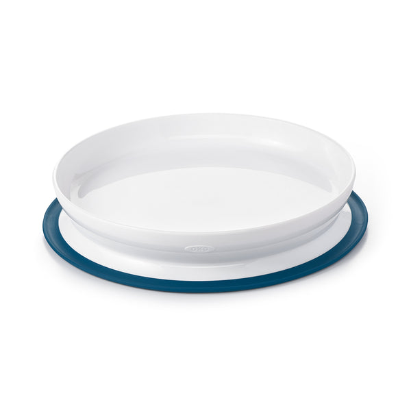 Oxo Tot Stick & Stay Plate - Navy