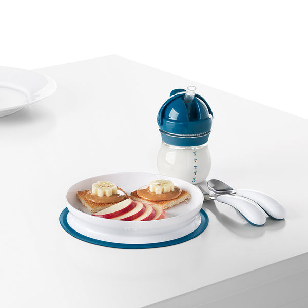 Oxo Tot Stick & Stay Plate - Navy (2)