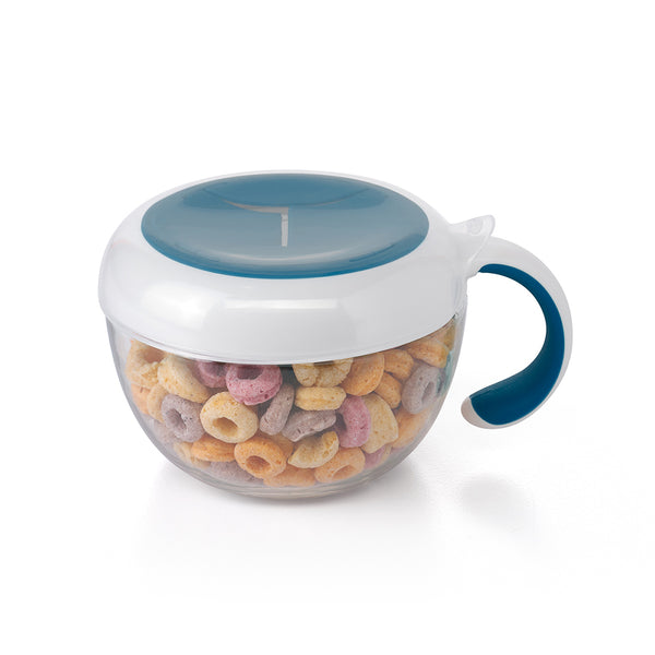 Oxo Tot Flippy Snack Cup - Navy (1)