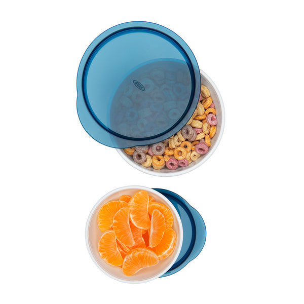 Oxo Tot Small & Large Bowl Set - Navy (1)
