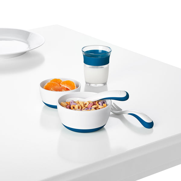 Oxo Tot Small & Large Bowl Set - Navy (2)