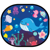 Bubble Cling Sunshades - Under the Sea