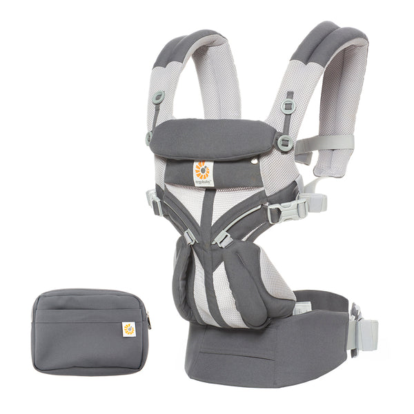 Ergobaby Omni 360 Cool Air Mesh Baby Carrier - Carbon Grey (2)