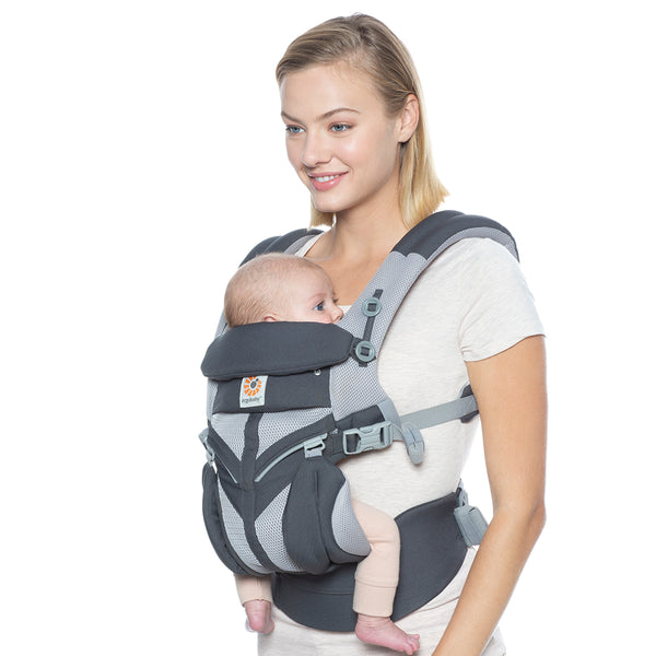 Ergobaby Omni 360 Cool Air Mesh Baby Carrier - Carbon Grey (3)