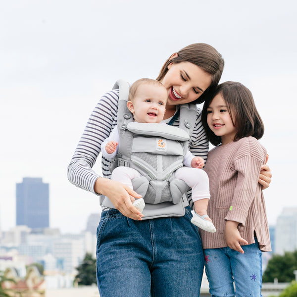 Ergobaby Omni 360 Cool Air Mesh Baby Carrier - Pearl Grey (3)