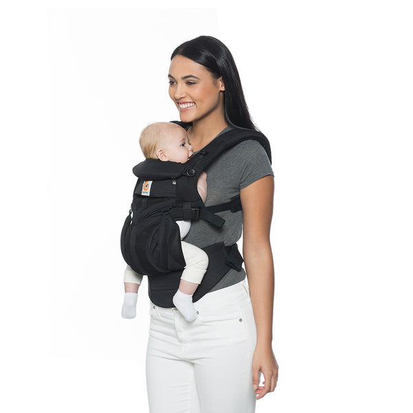 Ergobaby Omni 360 Cool Air Mesh Baby Carrier - Onyx Black (3)