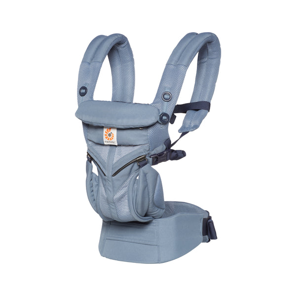 Ergobaby Omni 360 Cool Air Mesh Baby Carrier - Oxford Blue