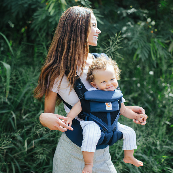 Ergobaby Omni 360 Cool Air Mesh Baby Carrier - Raven (4)