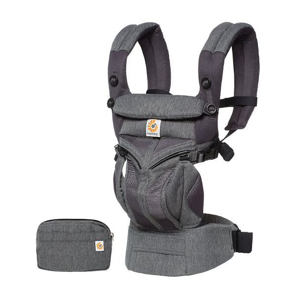 Ergobaby Omni 360 Cool Air Mesh Baby Carrier - Classic Weave (4)