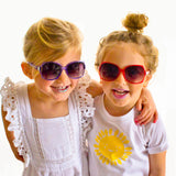 Frankie Ray Red Sassy Toddler Sunglasses (1)