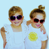 Frankie Ray Red Sassy Toddler Sunglasses (2)