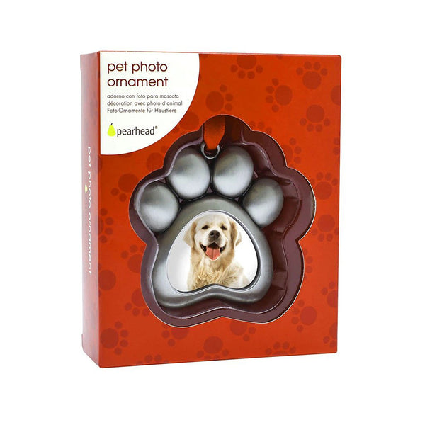Pearhead Pet Paw Photo Ornament (1)