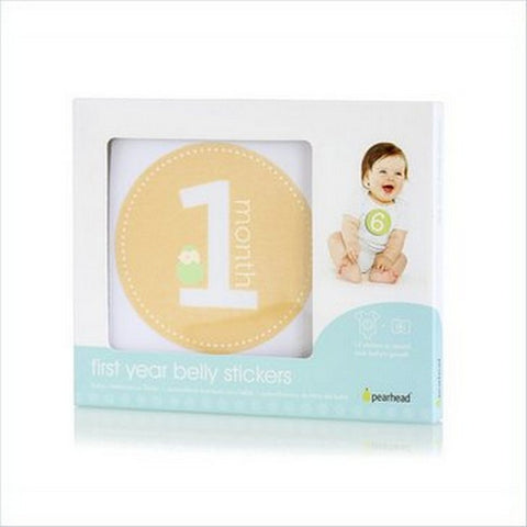 Pearhead Natural First Year Belly Stickers