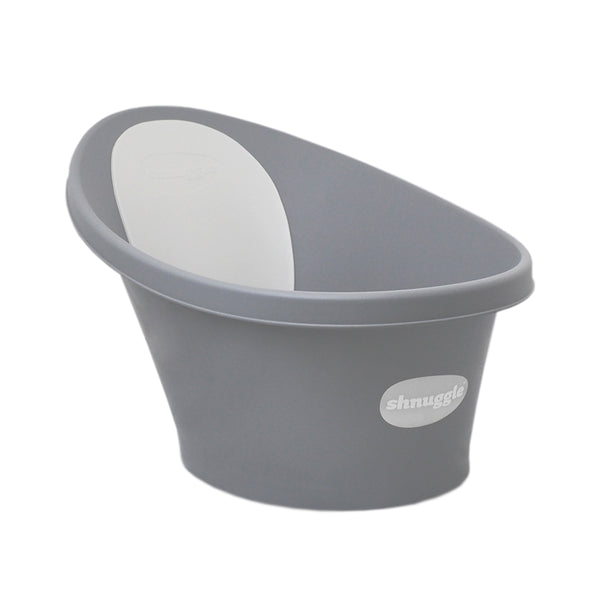 Shnuggle Bath with Plug - Slate Grey