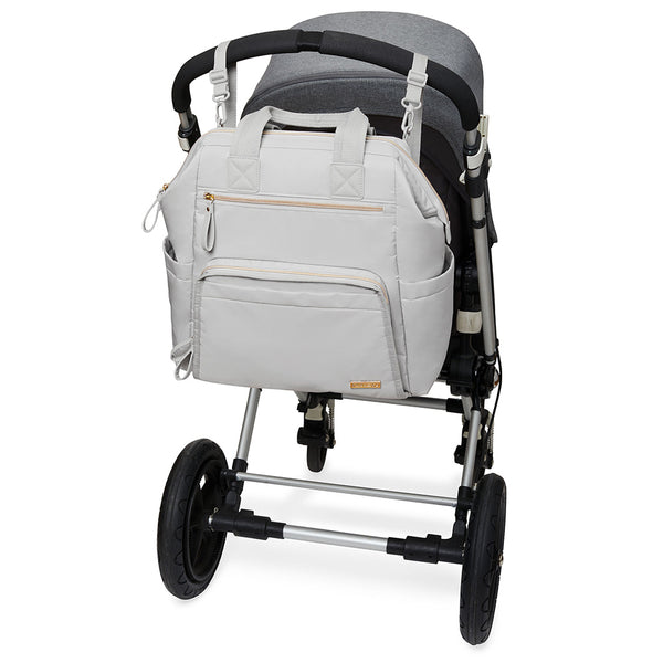 Skip Hop Main Frame Wide Open Backpack - Cement (3)