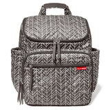 Skip Hop Forma Backpack - Grey Feather