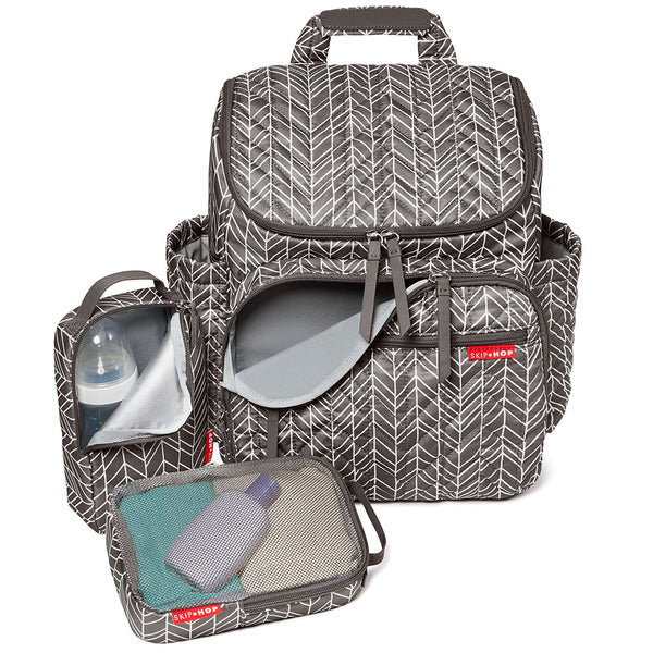 Skip Hop Forma Backpack - Grey Feather (1)