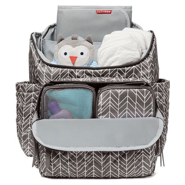 Skip Hop Forma Backpack - Grey Feather (2)