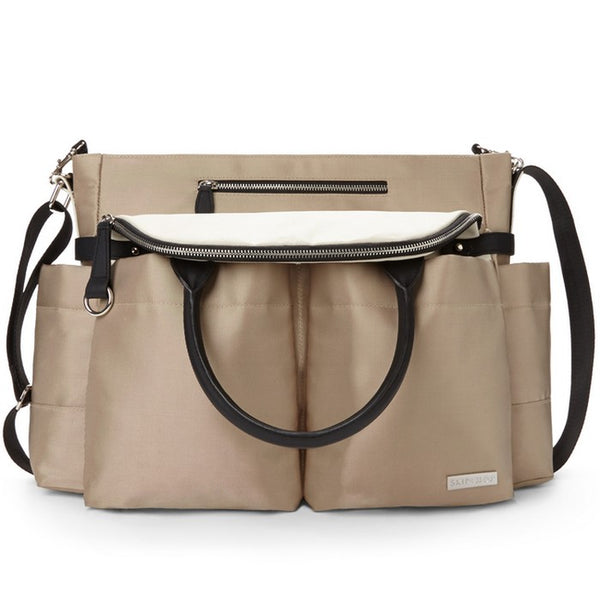 Skip Hop Champagne Chelsea Downtown Chic Nappy Bag